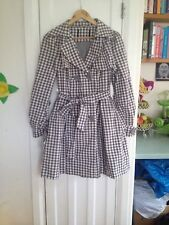 Unbranded Cotton Checked Coats & Jackets for Women