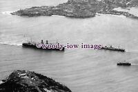 pu0962 - Unknown Liner arriving Sydney c1931 - photograph