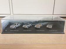 Porsche 550 Spyder - 356 B - Cararamar Bauer 4er Set 1:72