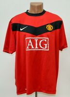 MANCHESTER UNITED 2009/2010 HOME FOOTBALL SHIRT JERSEY NIKE SIZE XXL ADULT