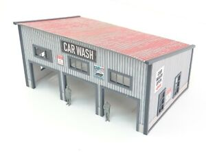 Display for Car Models Diorama Model Car Wash in Scale 1:43 Parts for Dioramas