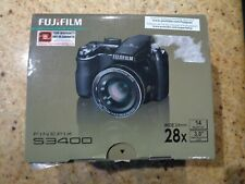 Fujifilm FinePix S Series S3400 14.0MP Digital Camera - Black
