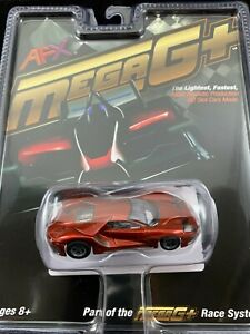 22030 AFX MEGA G PLUS FORD GT LIQUID RED  TOMY AURORA HO SCALE