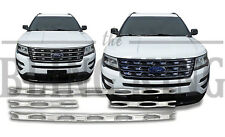 2016-2017 Ford Explorer chrome grille grill insert overlay trim