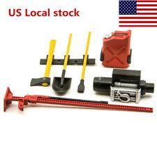 US 6PCS RC Decoration Tools Set Kit for 1:10 Rock Crawler Truck Car Parts D90
