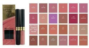 Max Factor Lipfinity Lip Colour 24HR sealer & Lipstick Dual - Choose Your Shade