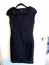KATIES  size 8  Beautiful Black BAND AIDE  Summer Dress