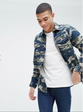 Jack & Jones ORIGINALS Camo Shirt In REGULAR Fit Medium NEW
