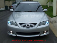 2003-2008 Mazda6 Fog Lamps lights foglamps foglights 05 06 07 08 mazda 6 six