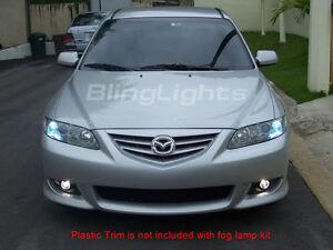 Fog Lamps light Kit for 2003-2008 Mazda6 foglights 05 06 07 08 mazda 6 six