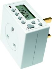 Electronic Digital Timeswitch - Timeguard 24 Hour 7 Day Timer Controller TG77