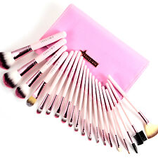 Fräulein3°8 Professional New 20 Pcs PINK CANDY Makeup Brushes Set with Case