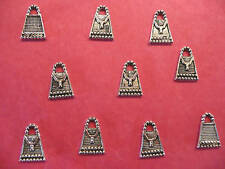 Tibetan silver Sac à Main / Sac Breloques - 10 Par Pack
