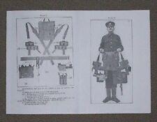THE PATTERN 1908 WEB EQUIPMENT (AUST) - MANUAL BOOKLET 1911 WW1