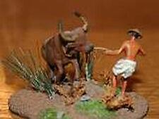 MGM 100-04 1/72 Resin Asian Farmer with Buffalo