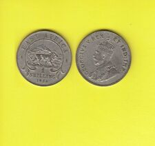 British East Africa GEORGIUS V One  Shilling Argent 1924  Exemplaire N° H