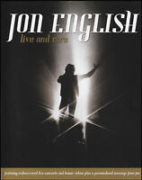 JON ENGLISH (DVD) LIVE & RARE ~ LIVE IN CONCERT PAL DVD *NEW*