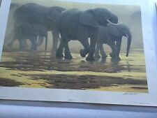 """BY THE RIVER"" LIMITED EDITION PRINT BY ROBERT BATEMAN"