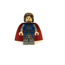 NEW LEGO Aragorn, Red Cape FROM SET 79007 THE LORD OF THE RINGS (lor066)