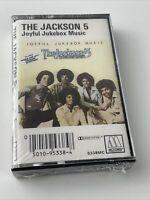 NEW SEALED THE JACKSON 5 JOYFUL JUKEBOX MUSIC CASSETTE TAPE 1976 MOTOWN RECORDS