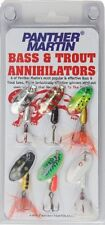 Panther Martin Bass and Trout Annihilator Spinner Fishing Lure Kit Pack of 6