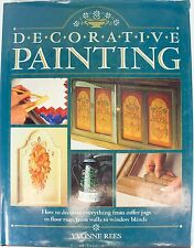 Decorative Painting Rees, Yvonne Hardcover Tole Art Instruction Book