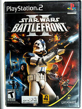 Star Wars Battlefront 2 (PS2) Complete - Clean,Tested & Fast Shipping