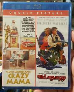 CRAZY MAMA + LADY IN RED BLU-RAY BRAND-NEW OOP LIMITED (OG & CORRECTED DISC)