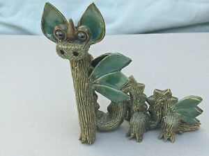Yare Pottery Dragons  - Six legged Dragon (small) - excellent clean condition