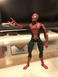 "Figurine 6"" SPIDERMAN Web Climbing Raimi Movie Spider-Man Marvel Legends ToyBiz"