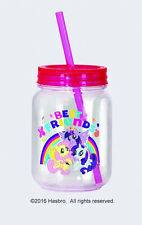 My Little Pony Characters Best Friends Double Wall 12 oz Acrylic Mini Mason Jar