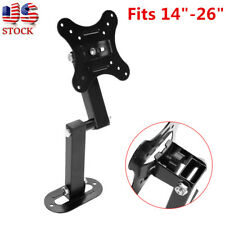 Full Motion TV Wall Mount Bracket Tilt Swivel 14 17 19 20 22 23 24 26 LED LCD TV