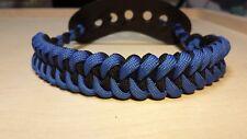 archery bow wrist sling Blue / Black Shark fits Mathews bowtech hoyt pse