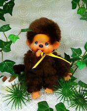 Monchhichi Junge gelbe Schleife Monchichi Boy Kiki Chic-a-Boo Vintage