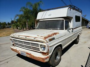 1969 Ford F100 Pick Up, California Erstlack ! Camper, Nur 5% Zoll.