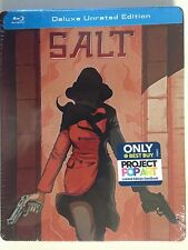 Salt Blu ray Limited Edition Steelbook - Exclusive Pop Art (NEW)