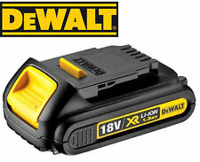 DeWalt DCB185 18v 18 v volt XR Li-Ion 1.3Ah Battery **BRAND NEW UK MODEL**