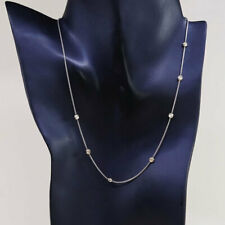 """16"""", Silpada Saturn Necklace N0673 Sterling Silver 14k Yellow Gold Necklace"""