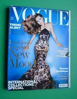 Vogue UK September 2004 Kate Moss Gemma Ward Elise Crombez Diana Dondoe British