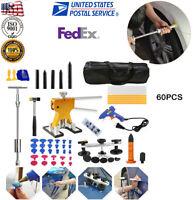 Car Paintless Dent Removal Puller Lifter Tools Line Board Repair Hammer Hail Kit