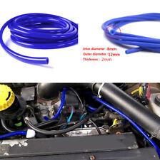 ID 8mm OD 12mm Universal SUV Car Silicone Vacuum Tube Hose Pipe 16.4ft 5M Blue