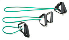 """CanDo exercise Tubing-with-Handles, full body set (1 ea: 18"""", 36"""", 48""""), green"""