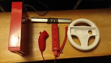 Nintendo Wii Red Console bundle