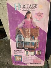 heritage vintage doll house. New in box