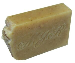 Almond Oat & Flax Goat Milk Soap-PALM FREE, Natural Organic by MJR Soaps