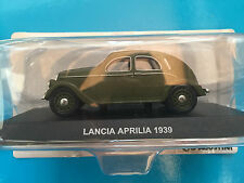 "DIE CAST "" SPEAR APRILIA - 1939 GREEN "" SCALE 1/43 CARABINIERI"
