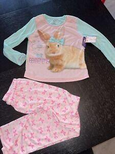 Gymboree Gymmies girls pajamas new nwt 3 bunny rabbit spring Easter