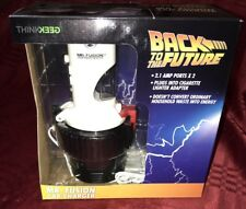 Back to the Future Mr. Fusion Car Charger USB New