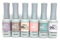 Orly Gel FX Nail Polish Smalti Pastel City - Pick Any Color 0.3oz/9mL