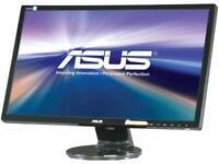"""ASUS VE248H 24"""" Full HD 1920 x 1080 D-Sub, DVI, HDMI Built-in Speakers Asus Eye"""